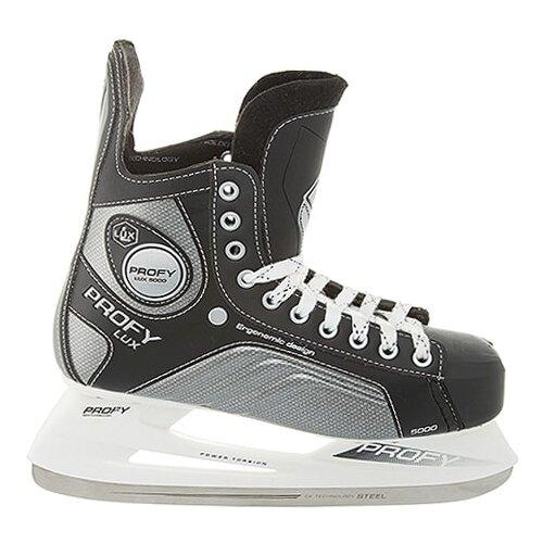 Хоккейные коньки СК (Спортивная коллекция) Profy Lux 5000 черный р. 47