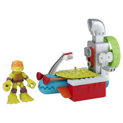 Купить Фигурка Playmates TOYS TMNT Half Shell Heroes Майки с гидроциклом 96703, Игровые наборы и фигурки