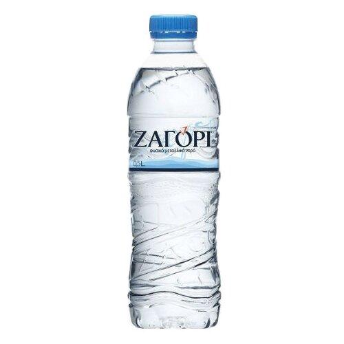 Минеральная вода Zagori негазированная, ПЭТ, 0.5 л