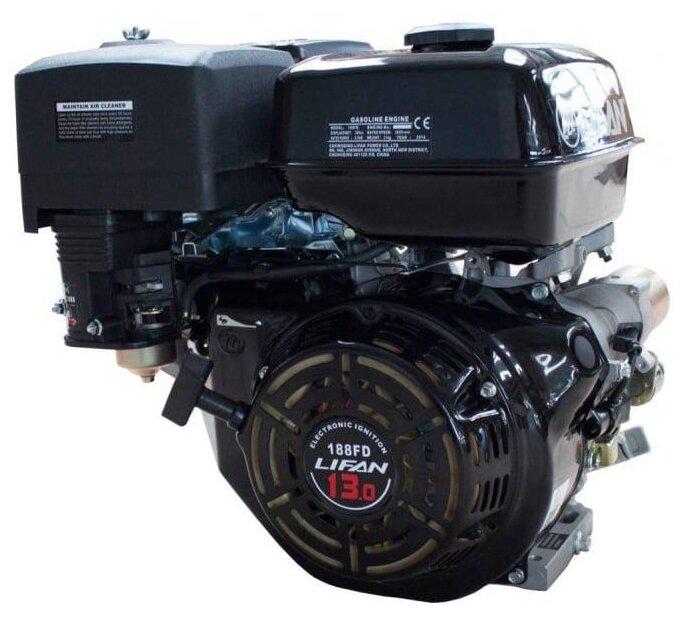 Бензиновый двигатель LIFAN 188FD D25 7А