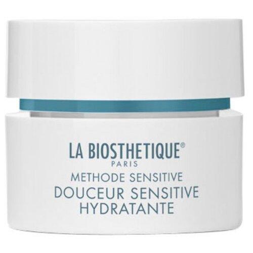 Купить La Biosthetique Methode Sensitive Douceur Sensitive Hydratante Успокаивающий крем для увлажнения и восстановления баланса обезвоженной, чувствительной кожи лица, 50 мл
