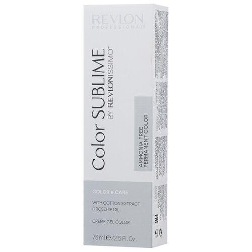 Revlon Professional Revlonissimo Color Sublime стойкая краска для волос, 75 мл, 6.66 темный блонд насыщенно-красный