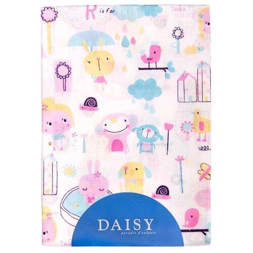 Купить Многоразовые пеленки Daisy хлопок 90x150 девочки, Пеленки, клеенки