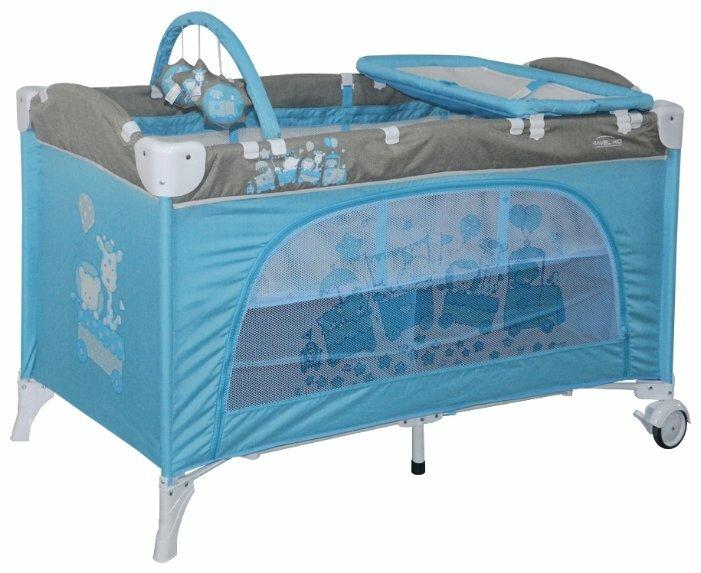 Манеж-кровать Lorelli Travel Kid 2