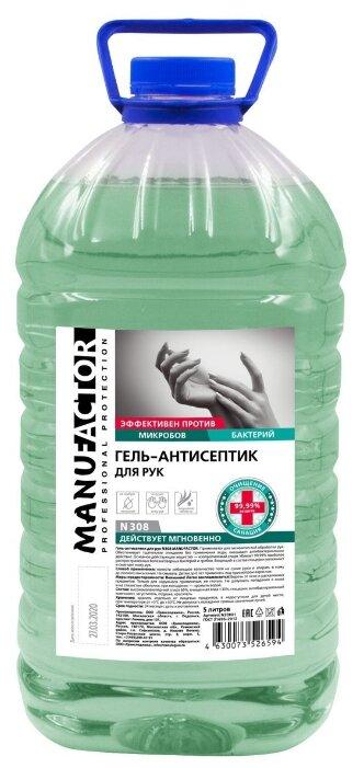 Manufactor Антисептический гель для рук №308 (без дозатора, ПЭТ)