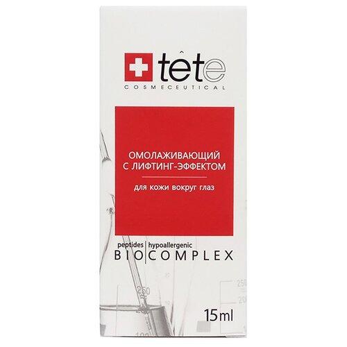 TETe Cosmeceutical Омолаживающий биокомплекс для для кожи вокруг глаз с лифтинг-эффектом, 15 мл набор ковриков для ванной quelle tete a tete 1018354