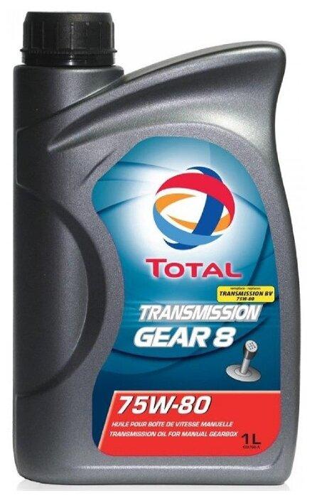 Total TRANSMISSION GEAR 8 75w-80 (старое название BV) трансмиссионное масло 1л