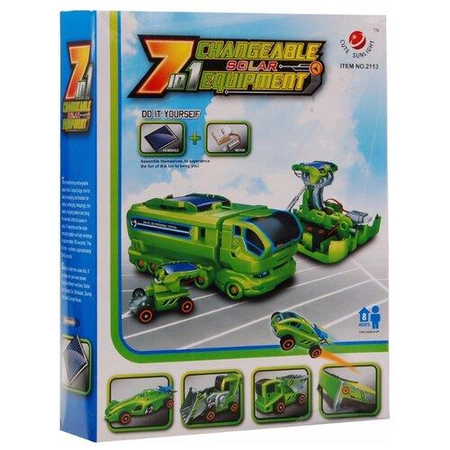 Купить Электромеханический конструктор CuteSunlight Toys Factory 2113 Changeable Solar Equipment 7 in 1, Конструкторы