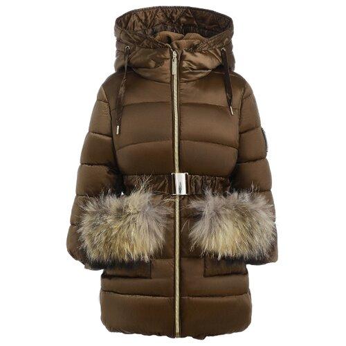 Купить Пальто Gulliver 21902GMC4505 размер 98, бежевый, Пальто и плащи