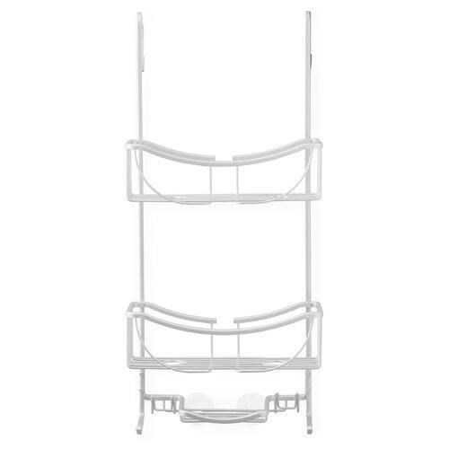 Полка для душевой кабины VENUS двухъярусная с мыльницей полка для душевой кабины caddy swr 1005 двухъярусная металл цвет чёрный