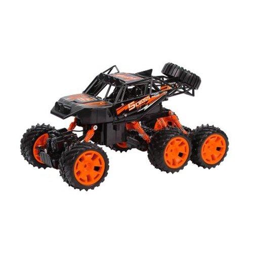 Внедорожник Пламенный мотор Краулер Штурм (870429/870430) 33 см оранжевый/черный внедорожник пламенный мотор краулер штурм 870427 28 см черный зеленый