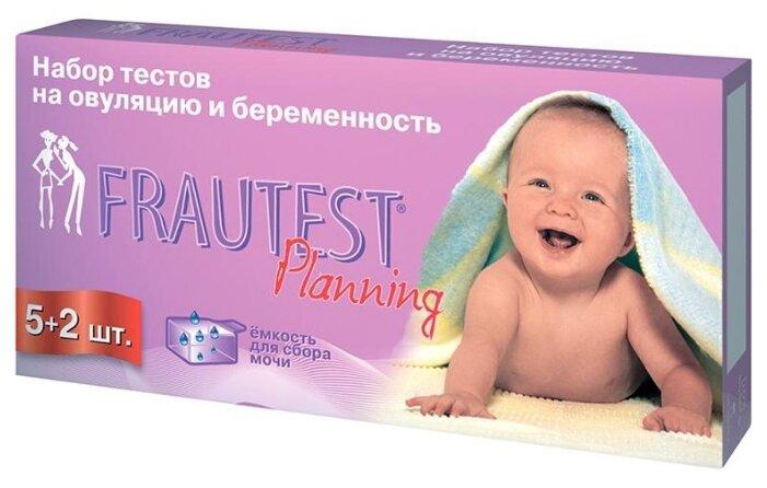 Тест FRAUTEST Planning на определение овуляции и беременности