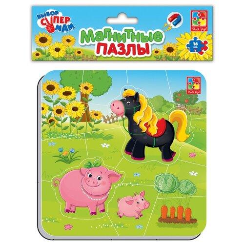 Купить Пазл Vladi Toys Ферма (VT3204-11), 16 дет., Пазлы