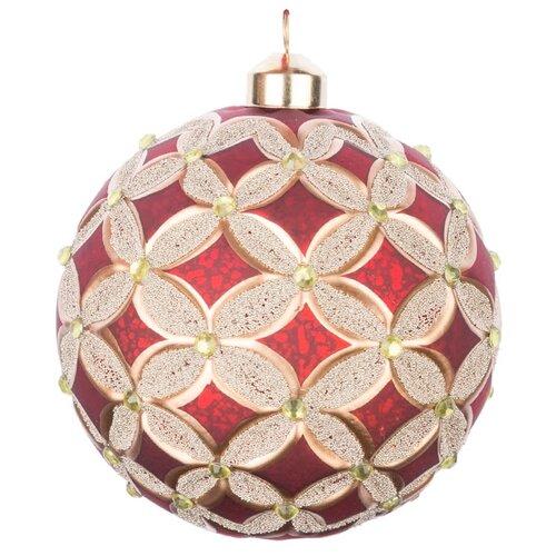 Набор шаров KARLSBACH 07328, красный/золотой