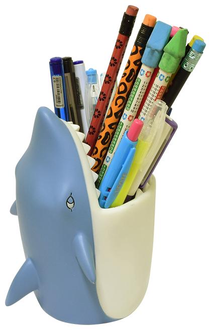 Купить deVENTE Стакан для пишущих принадлежностей Shark по низкой цене с доставкой из Яндекс.Маркета