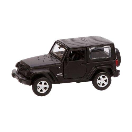 Купить Машинка Пламенный мотор JEEP WRANGLER (870299) 12 см черный, Машинки и техника