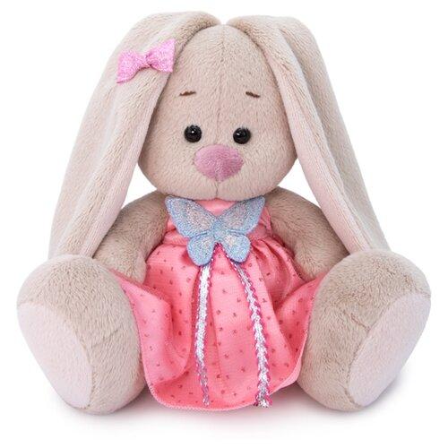 Купить Мягкая игрушка Зайка Ми в сарафане с бабочкой 15 см, Мягкие игрушки