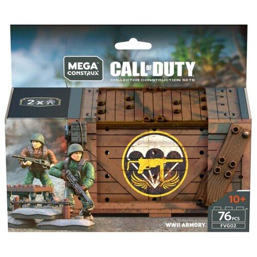 Конструктор Mega Construx Call of Duty FVG02 Арсенал Второй мировой войны