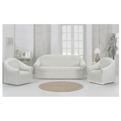 Набор чехлов KARNA 1780/CHAR для дивана и кресел, 3 шт
