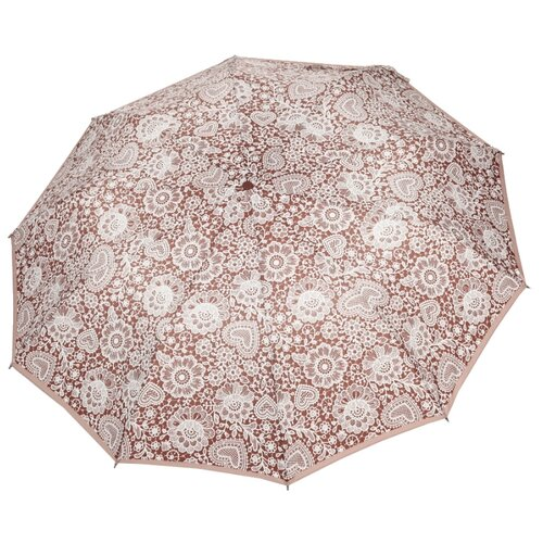 Зонт автомат ZEST 23928 коричневый