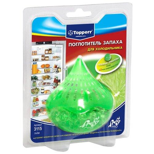 Topperr поглотитель запаха для холодильника Лайм 3115 topperr 1112 fv2