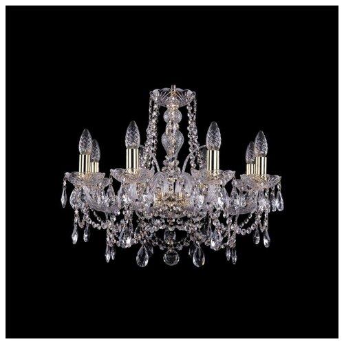Люстра Bohemia Ivele Crystal 1411 1411/8/195/G, E14, 320 Вт