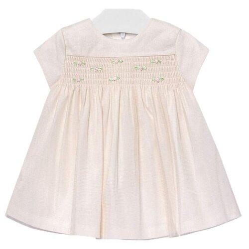 Купить Платье Mayoral размер 98, бежевый, Платья и сарафаны