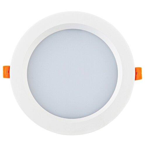Встраиваемый светильник Donolux DL18891/30W White R встраиваемый светильник donolux dl132g shampagne gold