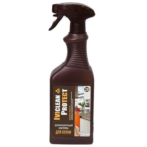 Дезинфицирующий очиститель для кухни IVIclean 750 млДля кухни<br>