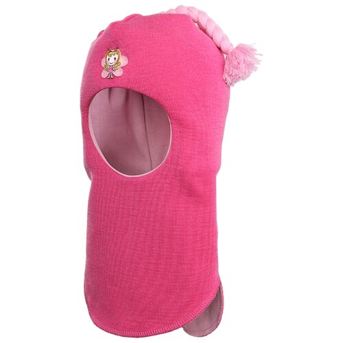 Шапка-шлем Kivat размер 1, фуксия