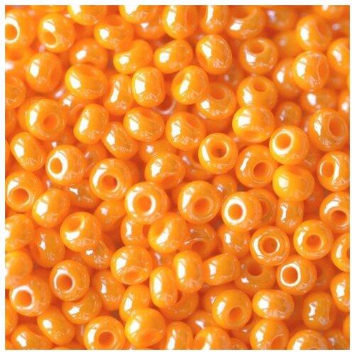 Купить Бисер Preciosa , 10/0, 50 грамм, цвет: 98110 оранжевый, Фурнитура для украшений