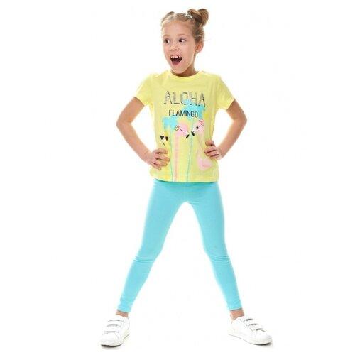 Леггинсы Umka 201-033-02-201 размер 110, голубой пижама umka im az 483