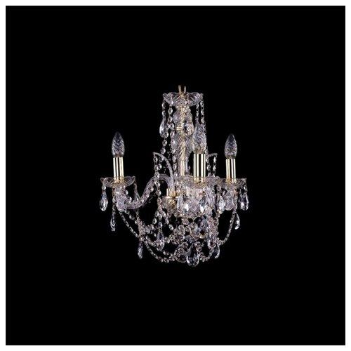 Люстра Bohemia Ivele Crystal 1411 1411/3/141/G, E14, 120 Вт bohemia ivele crystal подвесная люстра 1411 12 380 72 g
