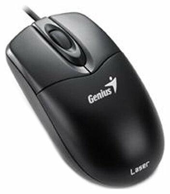 Мышь Genius NetScroll 200 Laser Black USB+PS/2