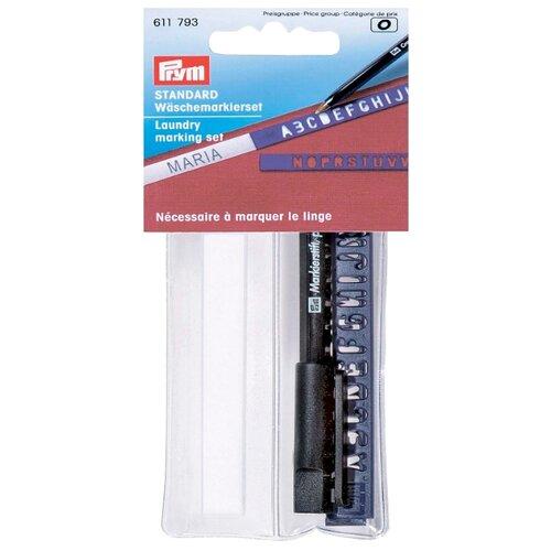 Prym Набор для маркировки белья (611793), белый 3 см