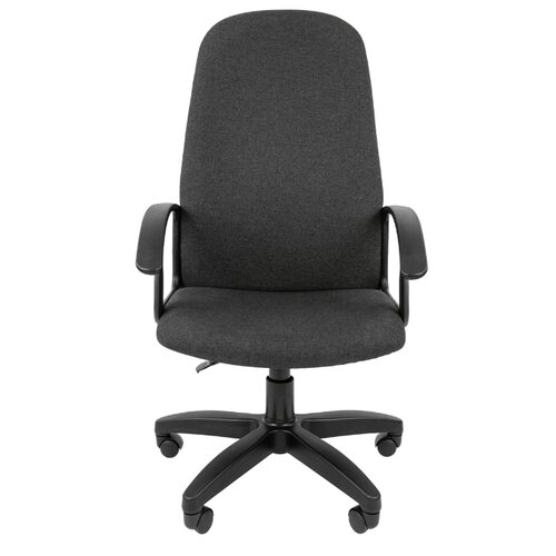 Компьютерное кресло Chairman Стандарт СТ-79 для руководителя, обивка: текстиль, цвет: серый компьютерное кресло chairman 434n для руководителя обивка текстиль цвет вельвет черный