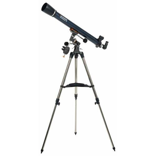 Телескоп Celestron AstroMaster 70 EQ синий/серебристый цена 2017