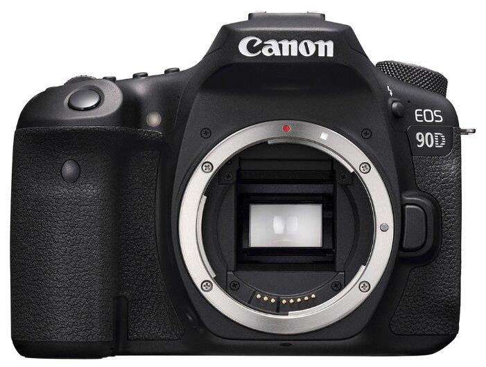 Фотоаппарат Canon EOS 90D Body черный фото 1