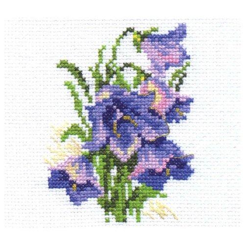 Купить Алиса Набор для вышивания Колокольчики 8 х 10 см (0-079), Наборы для вышивания