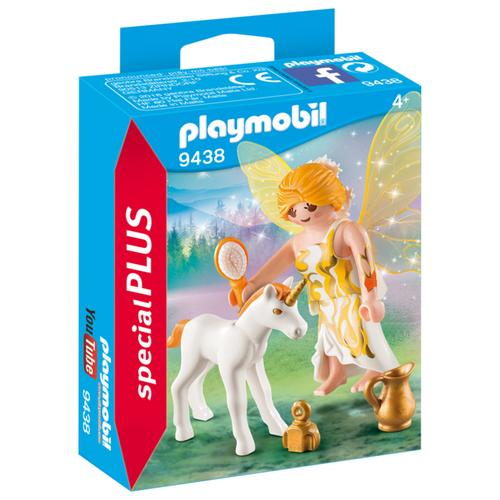 Купить Конструктор Playmobil Special Plus 9438 Фея солнца с маленьким единорогом, Конструкторы