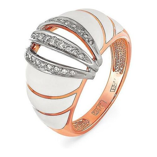 Фото - KABAROVSKY Кольцо с 27 бриллиантами из красного золота 11-0595-1010, размер 17 kabarovsky кольцо с 12 бриллиантами из красного золота 11 0398 1010 размер 17