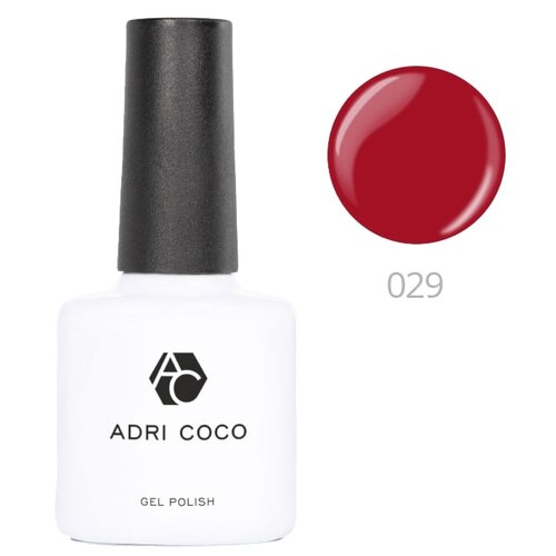 Купить Гель-лак для ногтей ADRICOCO Gel Polish, 8 мл, 029 красный