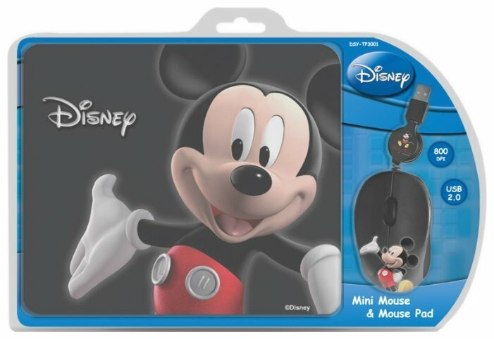 Мышь Cirkuit Planet DSY-TP3001 Black USB