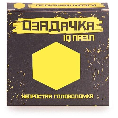 Купить Головоломка Озадачка IQ ПАЗЛ тип Шестиугольник (22799) оранжевый, Головоломки