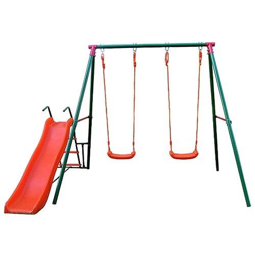 Купить Спортивно-игровой комплекс DFC MSS-01 зеленый/красный, Игровые и спортивные комплексы и горки
