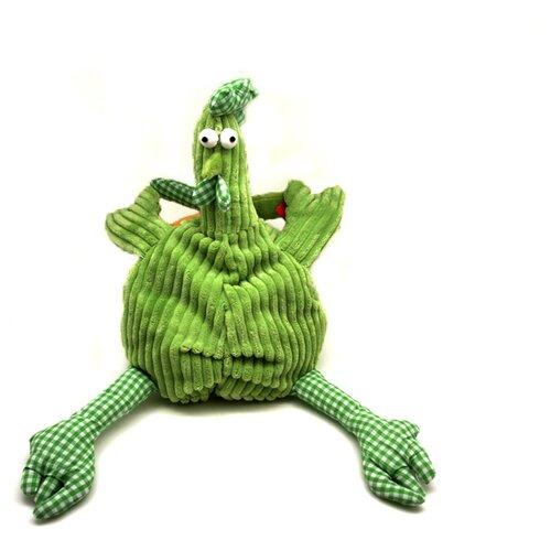 Мягкая игрушка Jackie Chinoco Петух Барри, зеленый 30 см