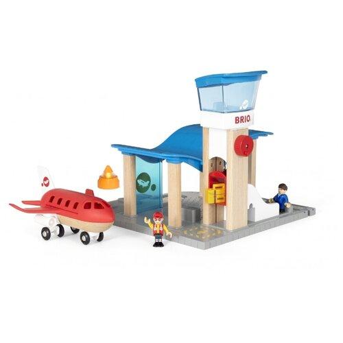 brio аэропорт и Brio Аэропорт и Командно-диспетчерский пункт 33883 голубой/красный/серый
