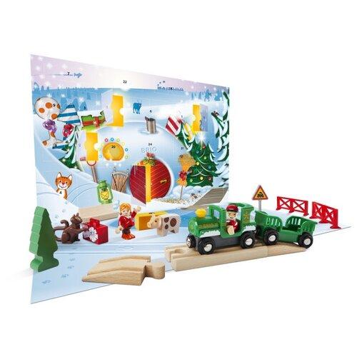 Купить Brio Стартовый набор Рождественский Календарь , 33814, Наборы, локомотивы, вагоны