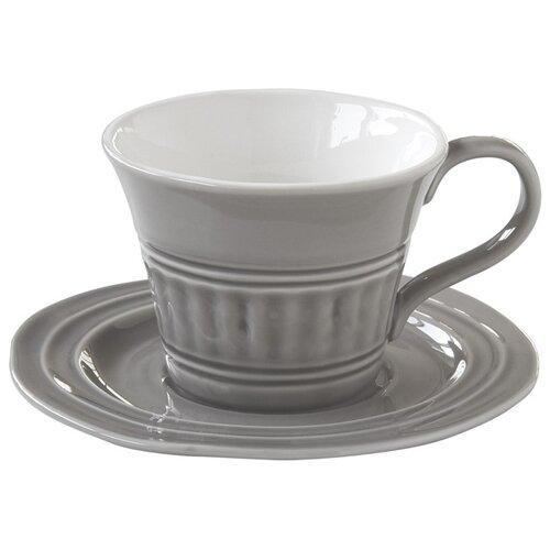 Easy Life Чайная пара Abitare 250 мл темно-серый