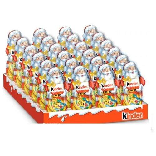 Фигурный шоколад Kinder Дед Мороз, коробка